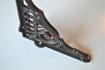 Antique style cast iron hook bracket lantern shelf bracket hanging basket SLB1 2