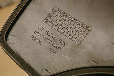 Honda PS / PES 125 / PES125 / PS125 glove box lid / cover 81141-KTZ-D000 3