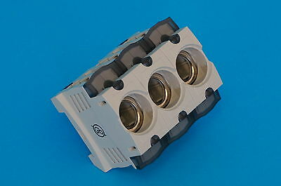 Sicherungssockel 3 polig D02 63A E18 für Neozed
