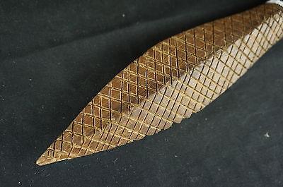 "Unusual vintage native american replica tribal artifact 20"" spear #2 7"
