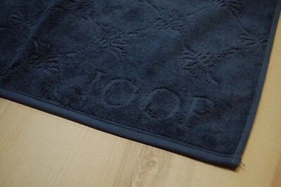 Joop serviette gästetuch 1670 Uni-Cornflower 111 MARINE BLEU 30x50cm