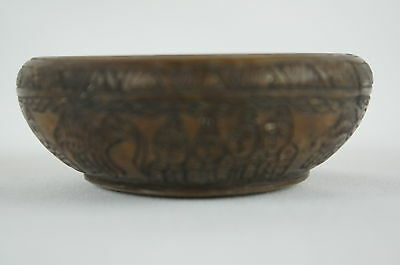 Excellent Old Carved Stone Vase, detailed, Persian late 19thC. [Y8-W6-A8-E8] 6