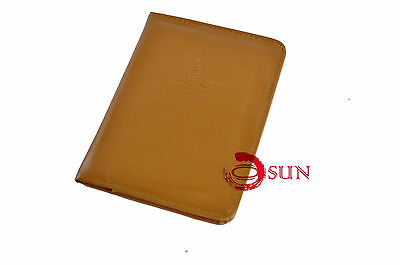 Travel Wallet Passport Holder Ticket Organizer Case Cover Pouch Faux Leather 5