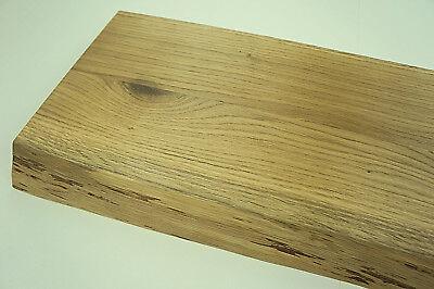 Treppenstufen Trittstufen Eiche Rustikal 40mm mit naturbelassene Baumkante geölt