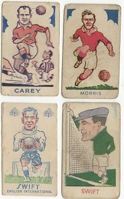DERBY 1930s G LOWRIE Sports Favourites No.143 Black Back 5