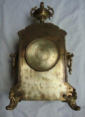 An Attractive 19Th Century, Japy Freres, Ormolu Mantel Clock. 3