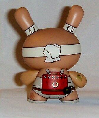 Kidrobot HUCK GEE Gold Life Dunny Fire Clan Ninja Red 1//16 KR Nunchucks Vinyl