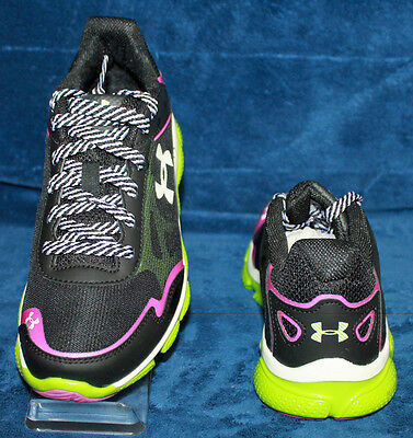 1244707-001 Youth Under Armour GGS Micro G Pulse RN Running Shoe