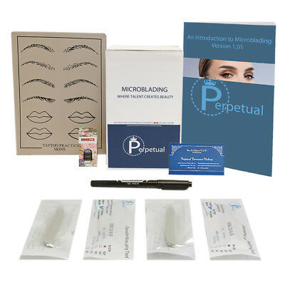 Microblading Starter Kit Permanent Makeup with Doreme Ink Microblades U Choose 5