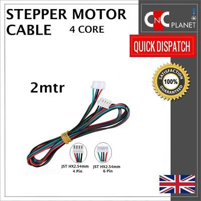 Nema17 4 wire Stepper Motor Cable with 4 Pin Dupont 6Pin HX2.54mm JST Connector 4