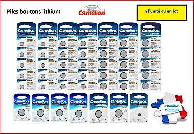 Piles boutons lithiums, alcalines Camelion, CR2032 AG13, Expédition gratuite ! 2