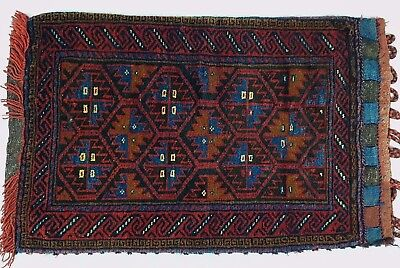 Persian Style Afghan Rug Pillow Cover