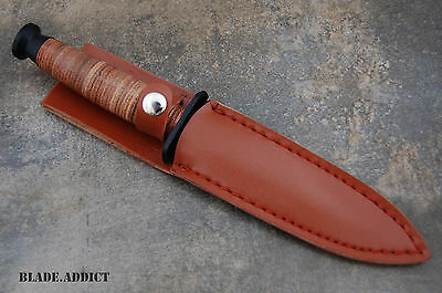 """9"""" Tactical Army Survival Fixed Blade Hunting Knife Bowie Camping Military New 4"""