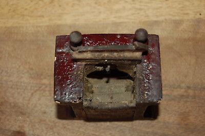 Puerta vieja reloj de bolsillo de madera época 1900 6