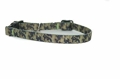 """Pet Palace """"Military Moggy"""" Adjustable Cat Safety Collar with camouflage design 3"""