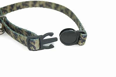 """Pet Palace """"Military Moggy"""" Adjustable Cat Safety Collar with camouflage design 4"""