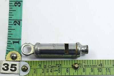 The Metropolitan Brass Whistle Made In India – Coach Training Whistle G70-245 US 10