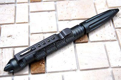 "4/8Pcs 6""Aluminum Tactical Glass Breaker Writing Pens Outdoor Survival Tool Pen 7"