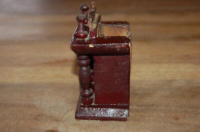 Puerta vieja reloj de bolsillo de madera época 1900 2
