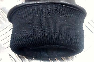 Genuine British Military Black Leather Combat Gloves MK2 MVP - Grade 1