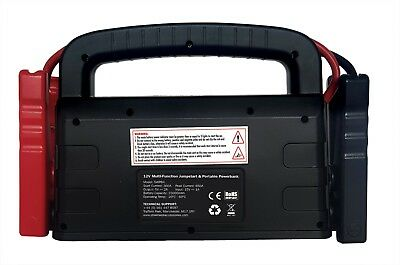 Streetwize 12V Power Bank with Jump Starter for up to 5L Petrol & 3L Diesel Cars 3