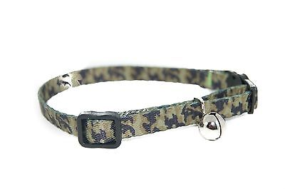 """Pet Palace """"Military Moggy"""" Adjustable Cat Safety Collar with camouflage design 5"""