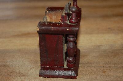 Puerta vieja reloj de bolsillo de madera época 1900 4