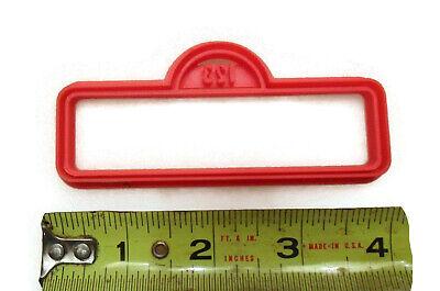 Sesame Street style Street Sign cookie cutter fondant cutter 3