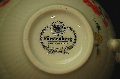 Furstenberg Miniature Tea Pot Victoria & Albert Museum Franklin Mint Porcelain 5