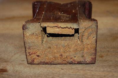 Puerta vieja reloj de bolsillo de madera época 1900 5