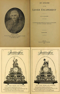 125 Rare Books On Horology, Pocket Watch, Clock, Sundial, Repair & More-Vol1 Dvd 10