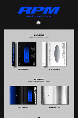 SF9 [RPM] 7th Mini Album 2 Ver SET+POSTER+2Photo Book+2F.Poster(ON)+6Card SEALED 3