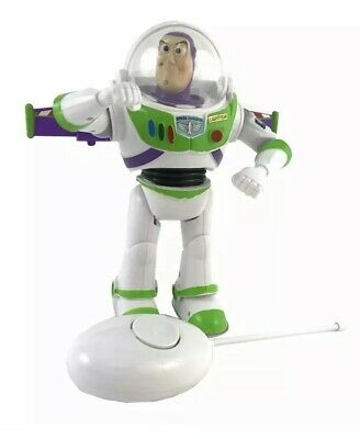 DISNEY Toy Story Buzz Lightyear Remote Control WALKING With Retractable Wings 2
