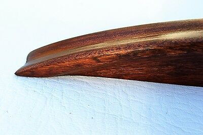 "Antique Art Deco wood drawer pull. salvaged parts 5""on center.. ..Circa 1925 3"