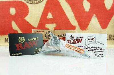 Authentic Raw Rolling Paper Cone Loader Work With King Size / 98 Special 3