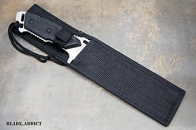 "12"" Fixed Blade Tactical Combat Hunting Survival Knife w/ Sheath Bowie Outdoor 3"