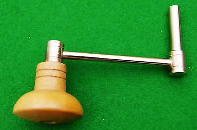 Antique Longcase Clock Crank Key No 18 (6.75 mm Square 11 mm Shaft) 3