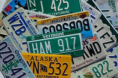 License Plates -  All 50 States Canada Mexico Available Good Condition Plate Lot 2