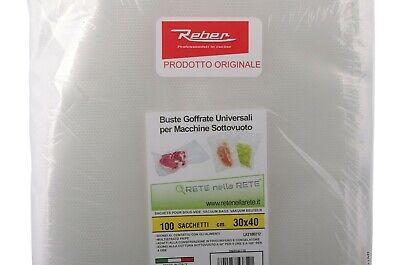 Reber Rnr 100x Sachets en Relief 40x30 cm Machine sous Vide Artus Ecopro Famille 4