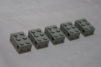 NEW LEGO PART 879 LIGHT GREY ELECTRIC TOUCH SENSOR x 1