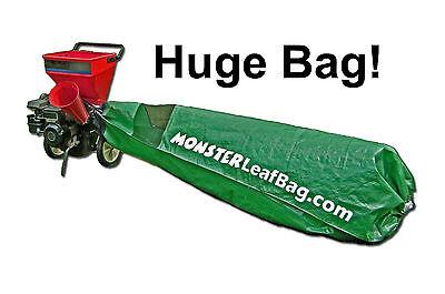 2 Of 6 Craftsman Lawntractor Bagger Huge Riding Mower Bag Easy Monster Leaf