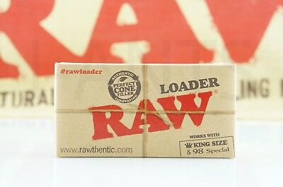 Authentic Raw Rolling Paper Cone Loader Work With King Size / 98 Special 4