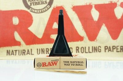 Authentic Raw Rolling Paper Cone Loader Work With King Size / 98 Special 2