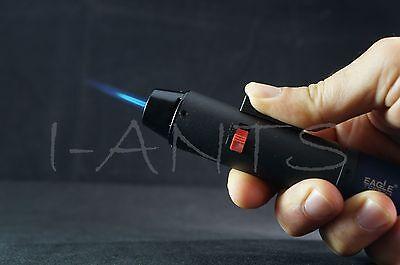 (Original) Eagle Jet Pen Torch Gun Adjustable Windproof Flame Refillable Lighter 4
