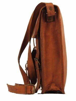Aktentasche Umhängetasche Lehrertasche Schultasche Leder Tasche spitze Indian 4