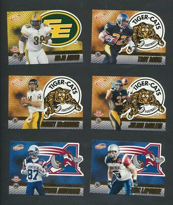2003 CFL Pacific Atomic Gold Variant  Lot of 18 Serial Numbered Dickenson, Simon 2