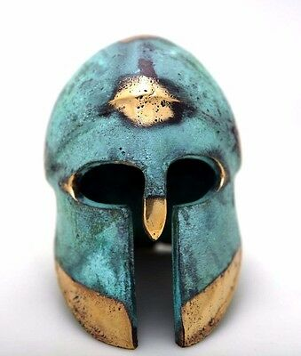 Ancient Greek Bronze Museum Replica Vintage Corinthian Soldier Battle Helmet 2