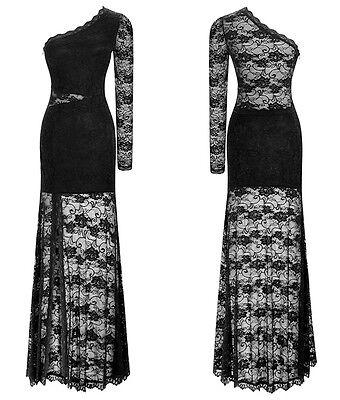 ... Vestito Lungo Pizzo Donna Una Manica - Woman Lace Maxi Dress One Sleeve  110140 3 1b3eaa4b67c
