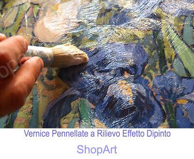💕 Quadro Klimt Maternità Stampa Fine Art di Pregio su Tela Vernice Pennellate 4