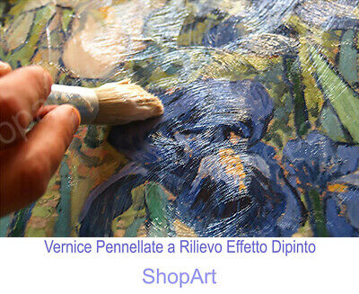 🌷Quadro Tamara de Lempicka Printemps Stampa Fine Art su Tela Vernice Pennellate 4